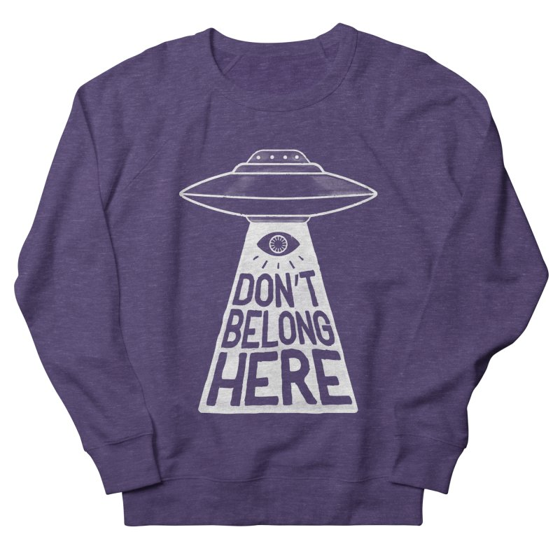 Beam Me Up Men's French Terry Sweatshirt by MidnightCoffee