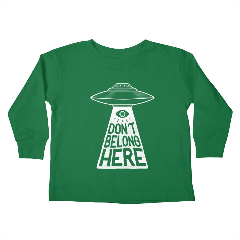 Beam Me Up Kids Toddler Longsleeve T-Shirt by MidnightCoffee