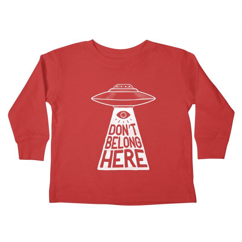 Beam Me Up Kids Toddler Longsleeve T-Shirt by MidnightCoffee