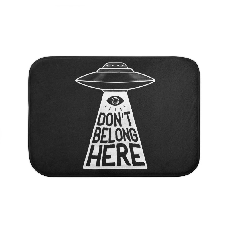 Beam Me Up Home Bath Mat by MidnightCoffee