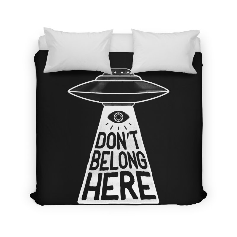 Beam Me Up Home Duvet by MidnightCoffee