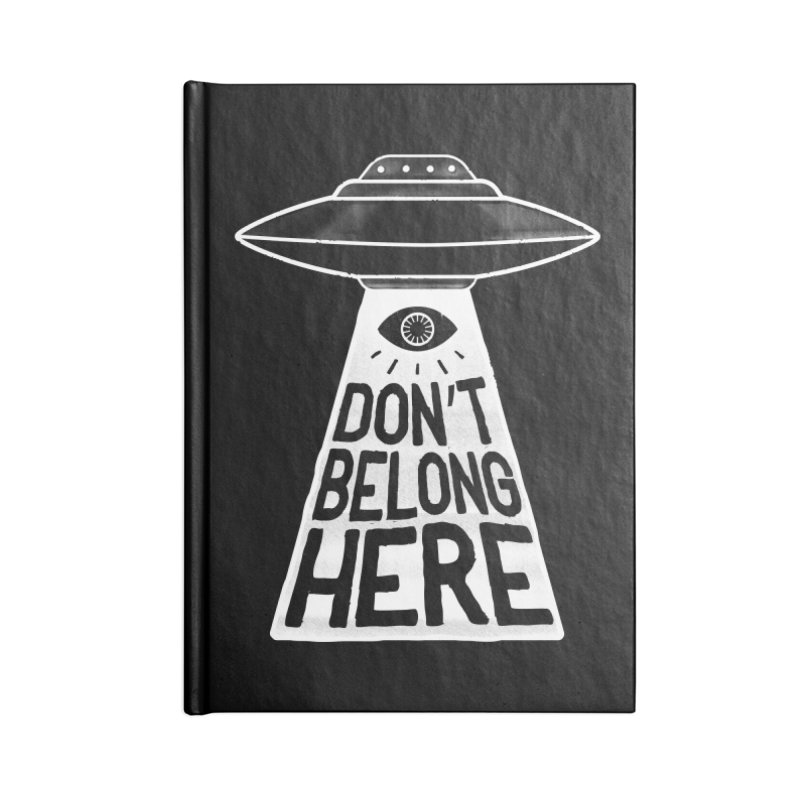Beam Me Up Accessories Notebook by MidnightCoffee