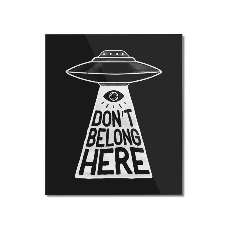 Beam Me Up Home Mounted Acrylic Print by MidnightCoffee