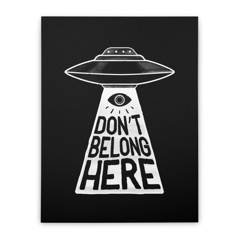 Beam Me Up Home Stretched Canvas by MidnightCoffee
