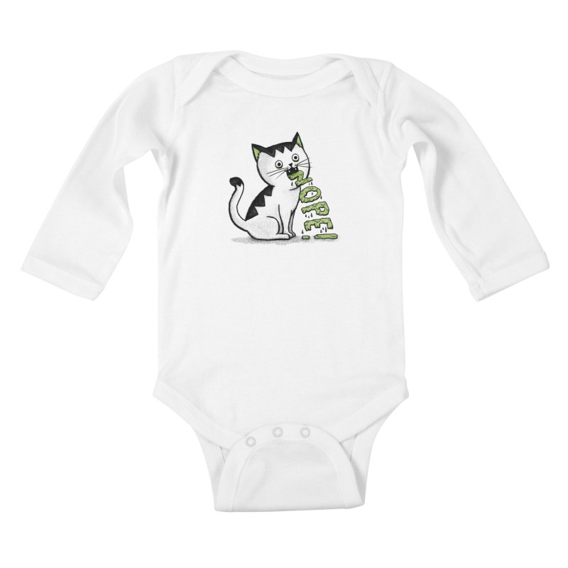 Insides Outside Kids Baby Longsleeve Bodysuit by MidnightCoffee