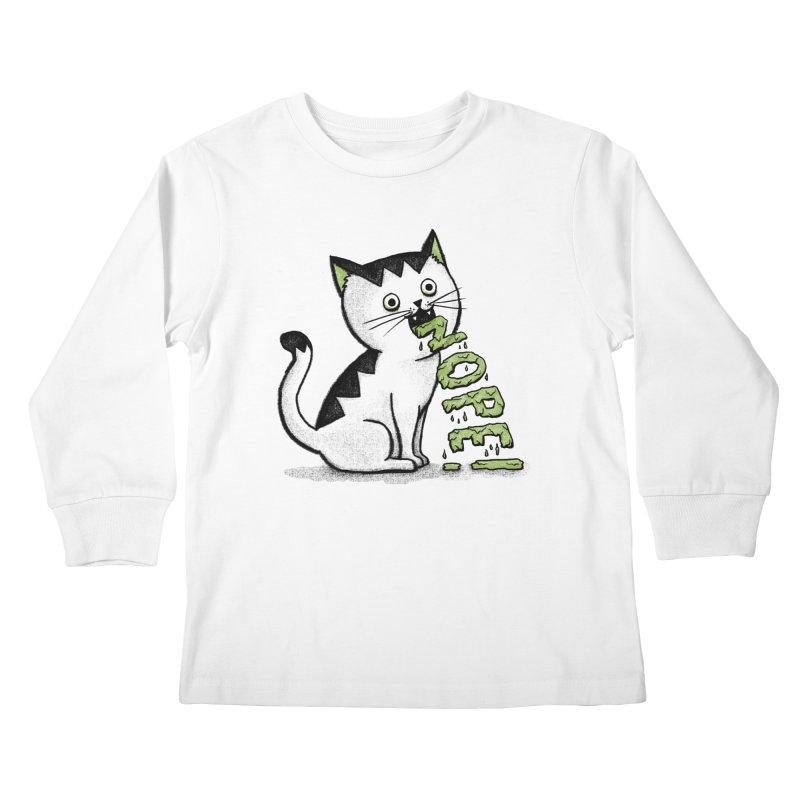Insides Outside Kids Longsleeve T-Shirt by MidnightCoffee