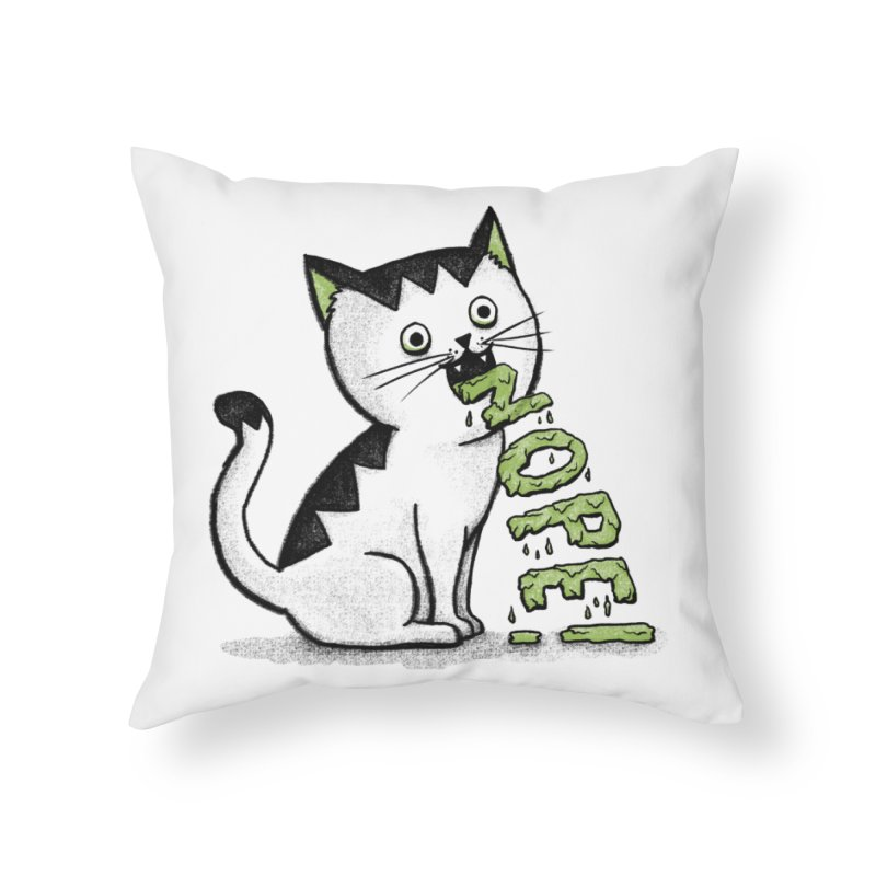 Insides Outside Home Throw Pillow by MidnightCoffee