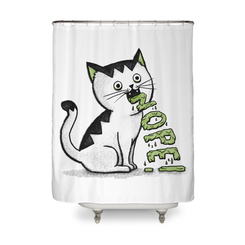 Insides Outside Home Shower Curtain by MidnightCoffee