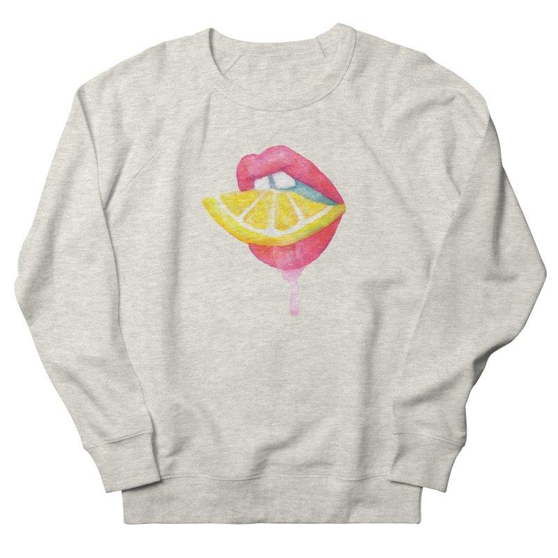 Take a Bite Women's Sweatshirt by MidnightCoffee
