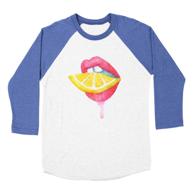 Take a Bite Women's Baseball Triblend Longsleeve T-Shirt by MidnightCoffee