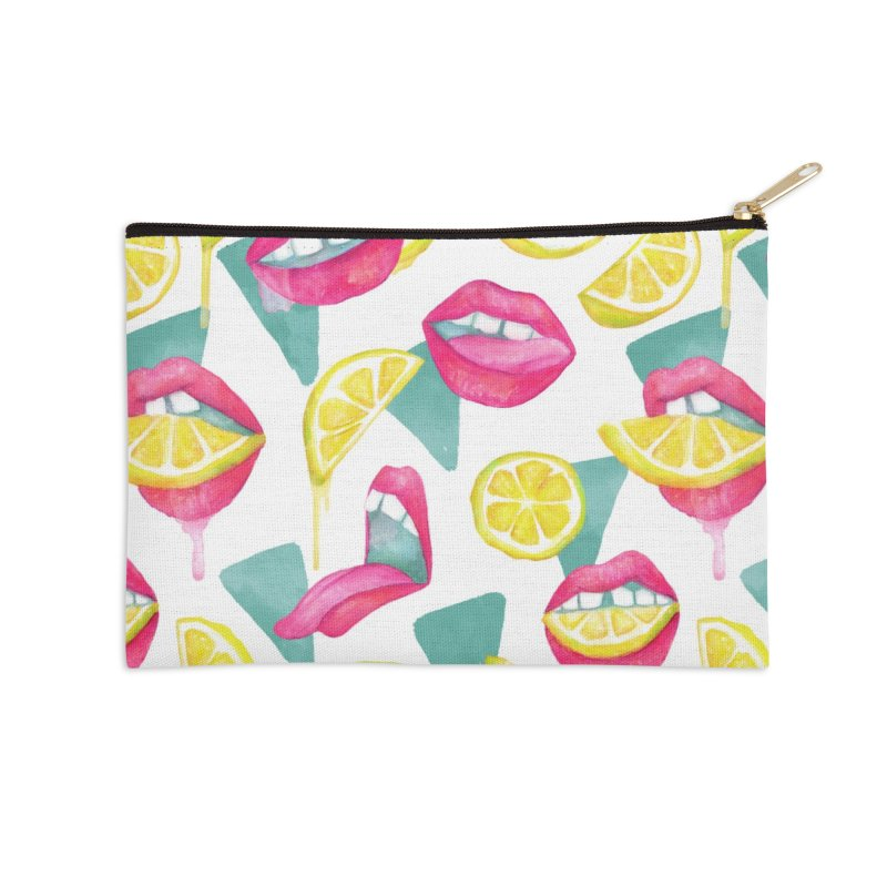 Take a Bite Accessories Zip Pouch by MidnightCoffee