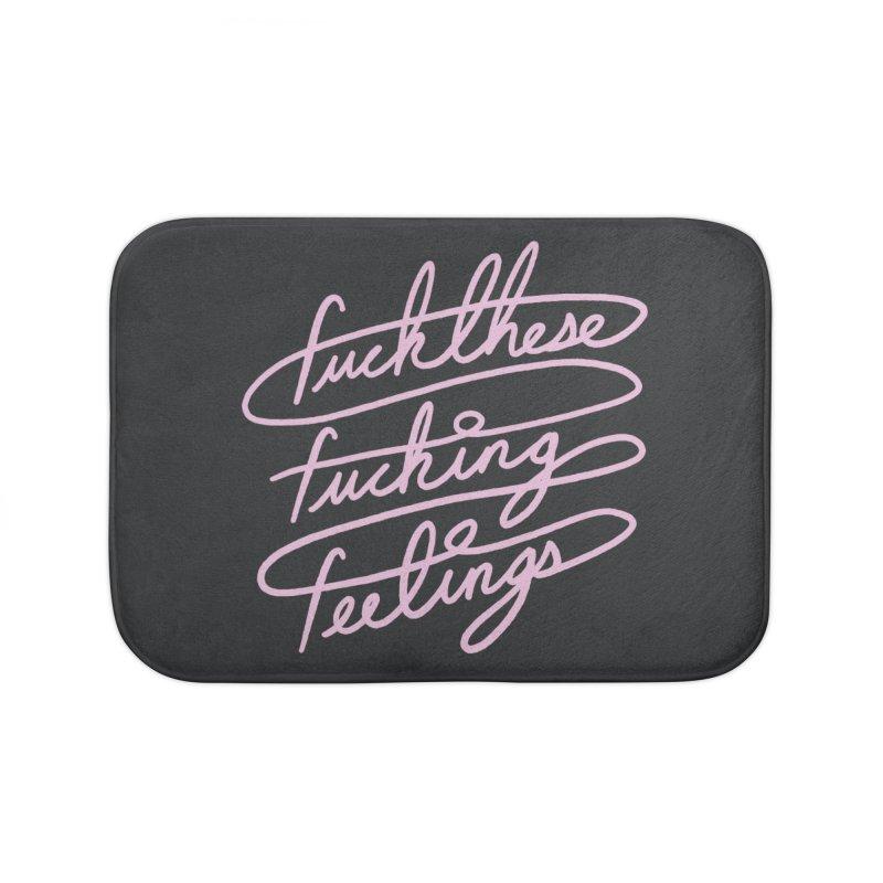 FFFeelings Home Bath Mat by MidnightCoffee