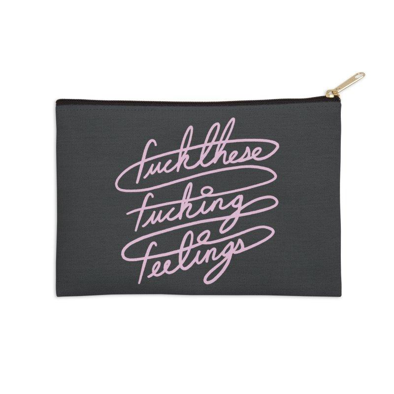 FFFeelings Accessories Zip Pouch by MidnightCoffee