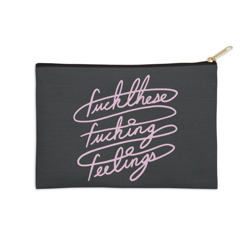 FFFeelings Accessories Zip Pouch by MidnightCoffee
