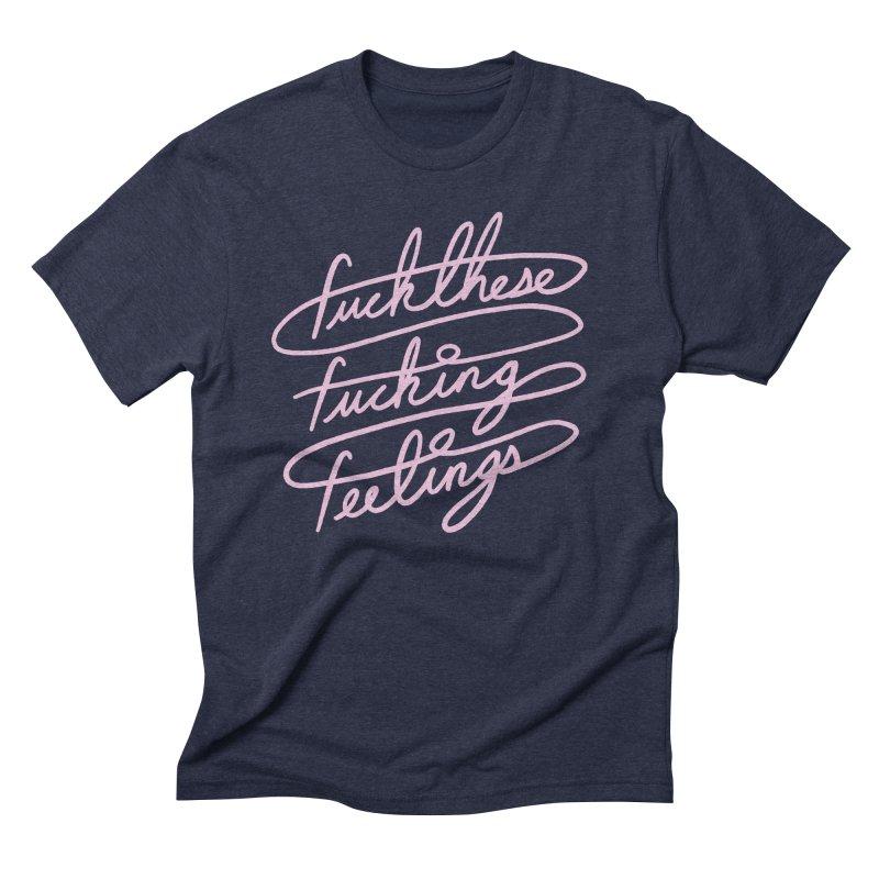 FFFeelings Men's Triblend T-Shirt by MidnightCoffee