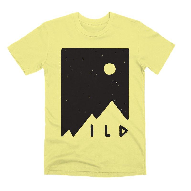 Wild Card Men's Premium T-Shirt by MidnightCoffee