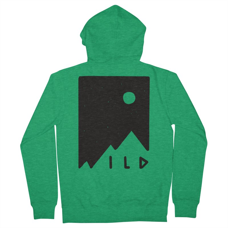 Wild Card Women's French Terry Zip-Up Hoody by MidnightCoffee