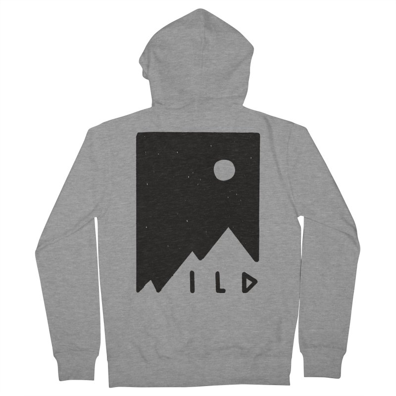 Wild Card Men's French Terry Zip-Up Hoody by MidnightCoffee