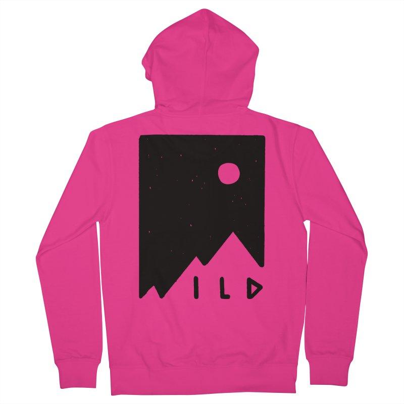 Wild Card Men's Zip-Up Hoody by MidnightCoffee