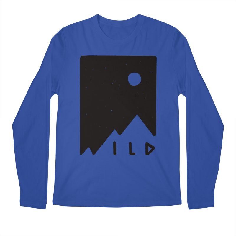 Wild Card Men's Regular Longsleeve T-Shirt by MidnightCoffee
