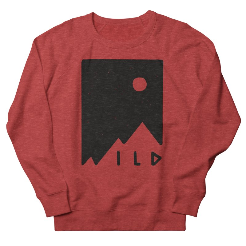 Wild Card Women's French Terry Sweatshirt by MidnightCoffee