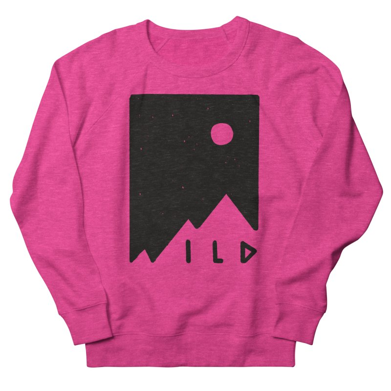 Wild Card Men's French Terry Sweatshirt by MidnightCoffee