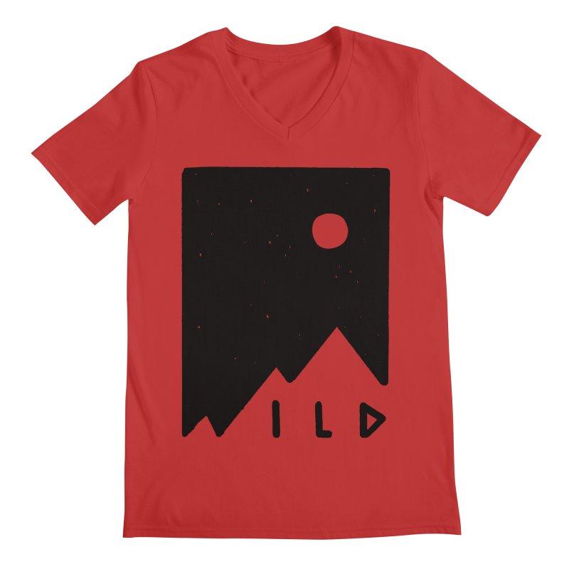 Wild Card Men's Regular V-Neck by MidnightCoffee