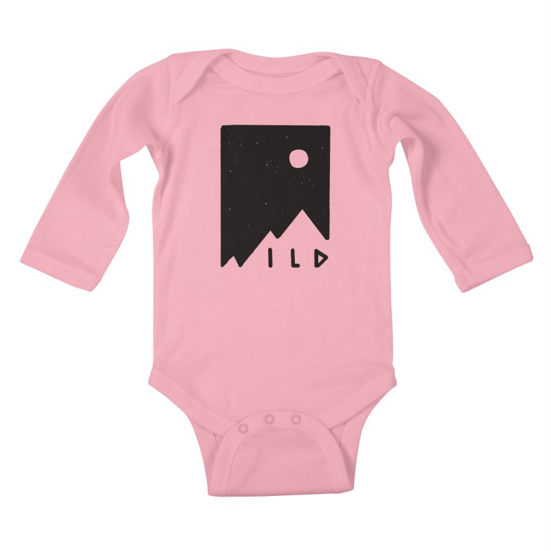 Wild Card Kids Baby Longsleeve Bodysuit by MidnightCoffee