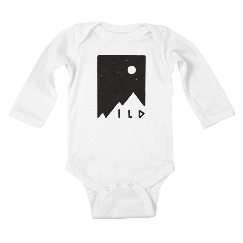 Wild Card Kids Baby Longsleeve Bodysuit by MidnightCoffee