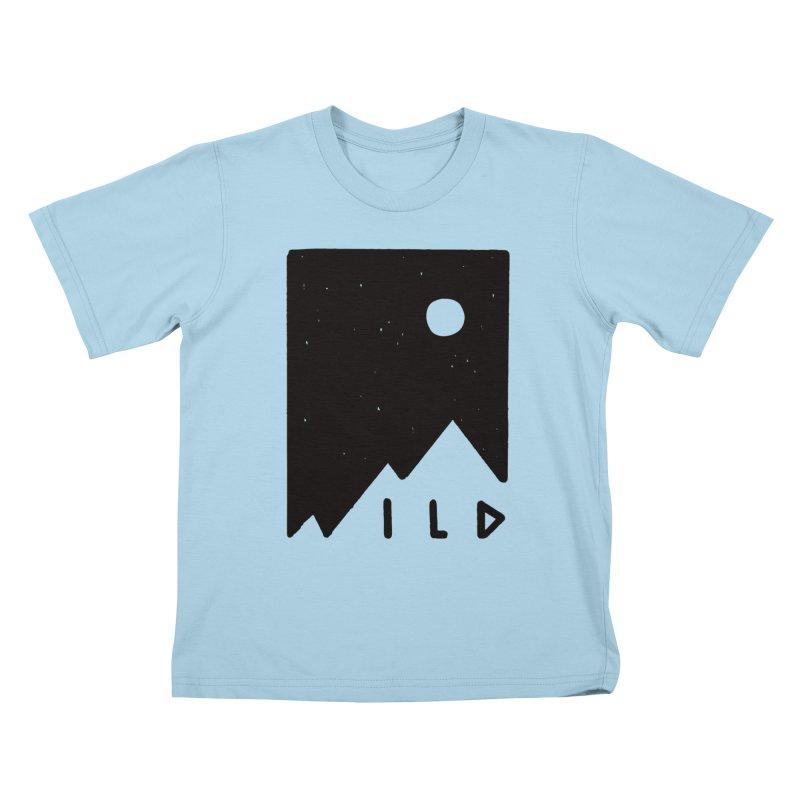 Wild Card Kids T-Shirt by MidnightCoffee