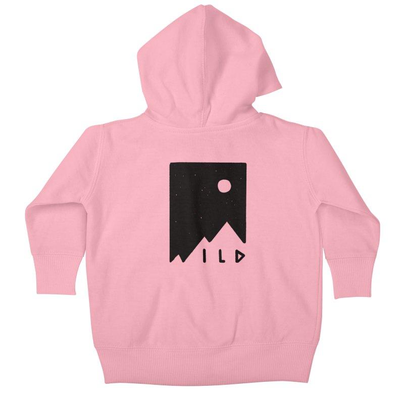 Wild Card Kids Baby Zip-Up Hoody by MidnightCoffee