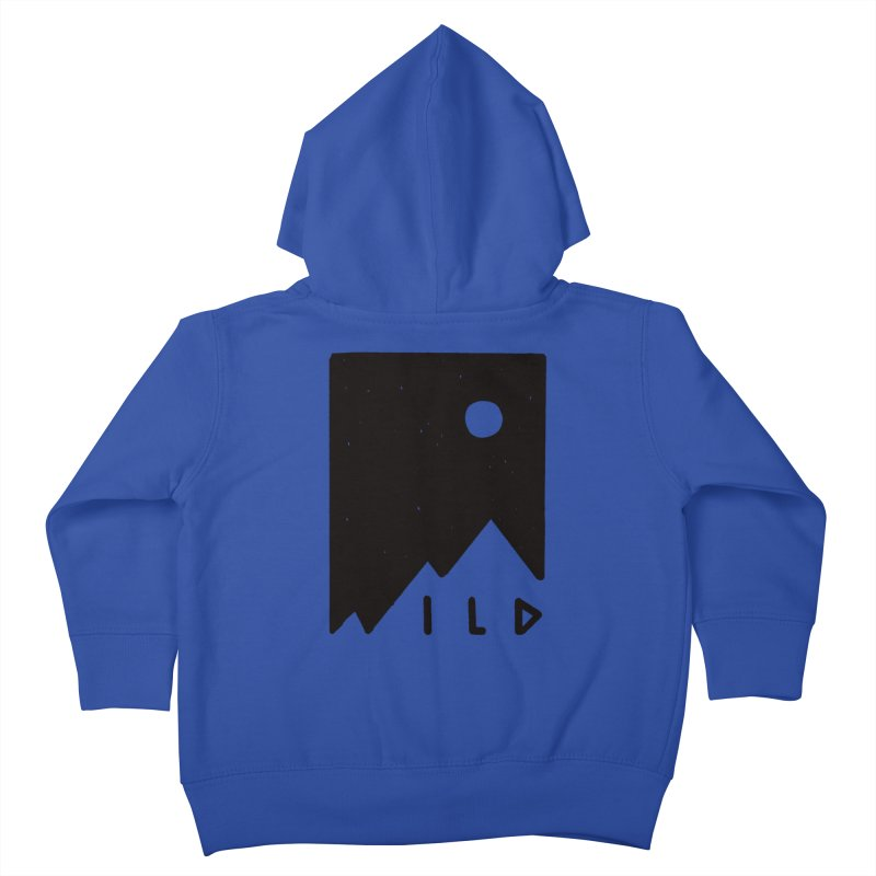 Wild Card Kids Toddler Zip-Up Hoody by MidnightCoffee