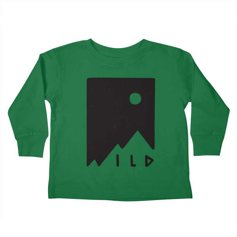 Wild Card Kids Toddler Longsleeve T-Shirt by MidnightCoffee
