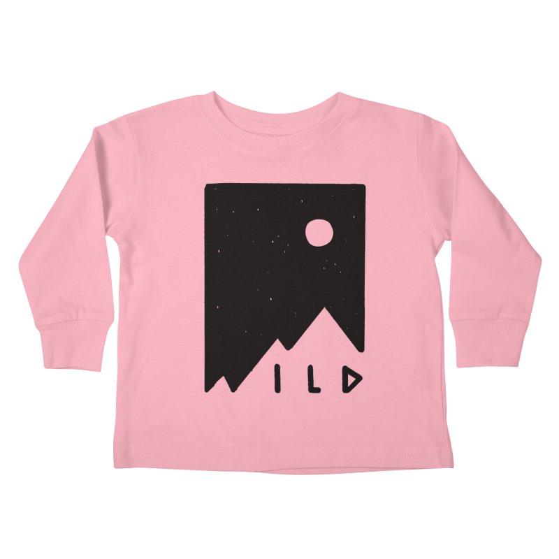Wild Card Kids Toddler Longsleeve T-Shirt by MidnightCoffee