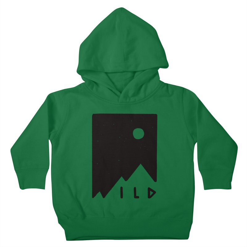 Wild Card Kids Toddler Pullover Hoody by MidnightCoffee