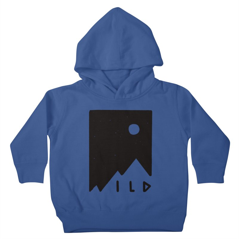 Wild Card Kids Toddler Pullover Hoody by MidnightCoffee