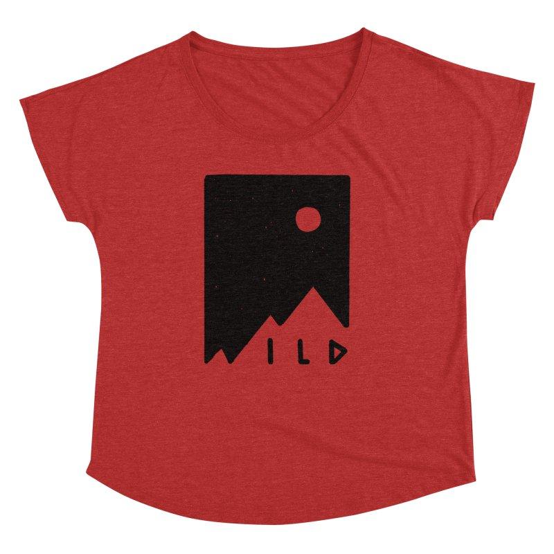 Wild Card Women's Dolman Scoop Neck by MidnightCoffee