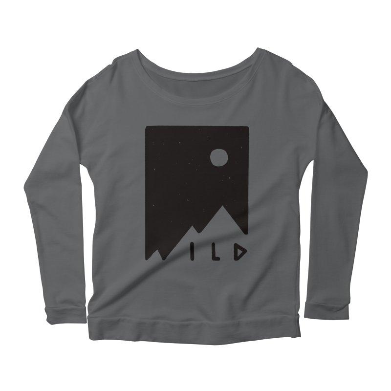 Wild Card Women's Scoop Neck Longsleeve T-Shirt by MidnightCoffee