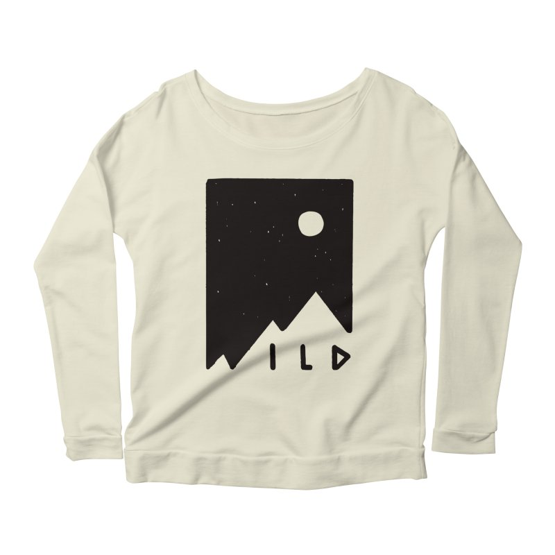 Wild Card Women's Longsleeve Scoopneck  by MidnightCoffee