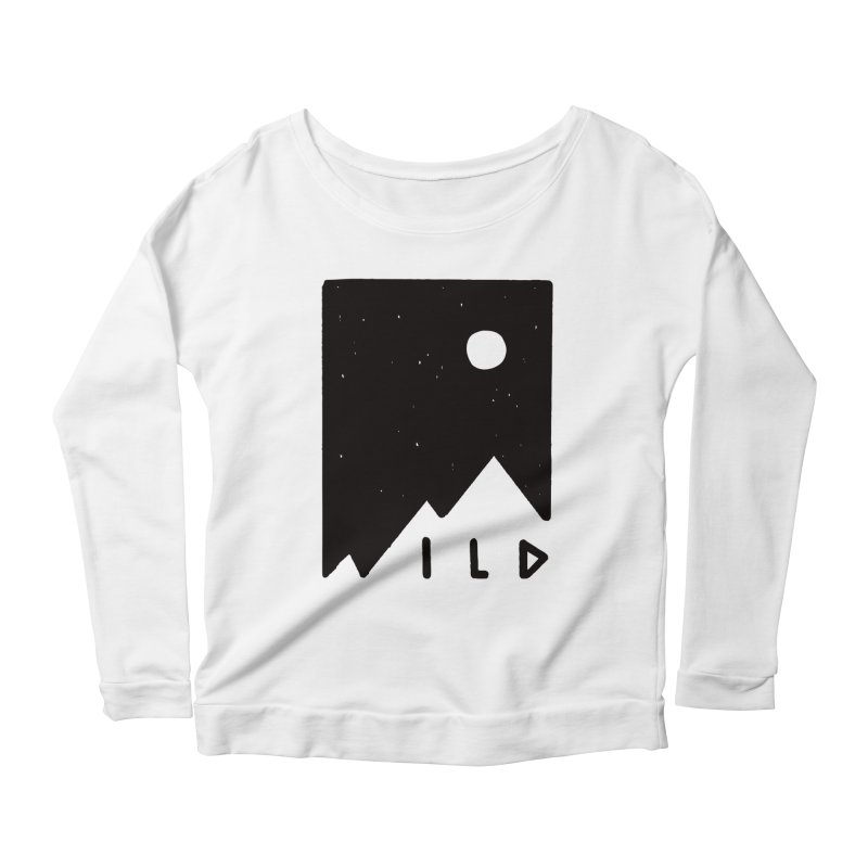 Wild Card Women's Scoop Neck Longsleeve T-Shirt by MidnightCoffee