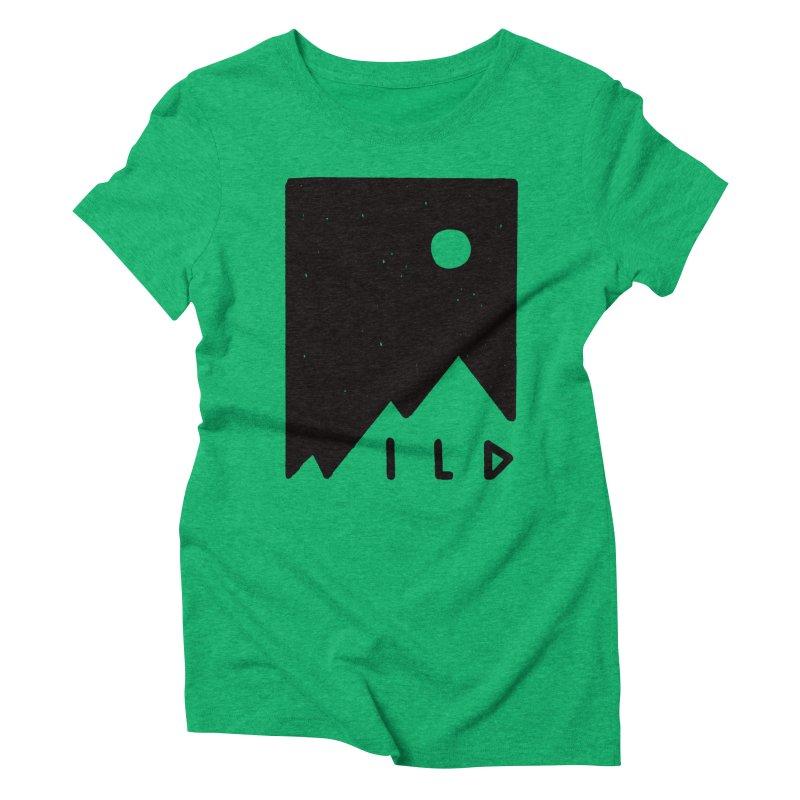 Wild Card Women's Triblend T-Shirt by MidnightCoffee