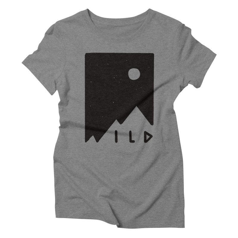 Wild Card Women's Triblend T-Shirt by MidnightCoffee