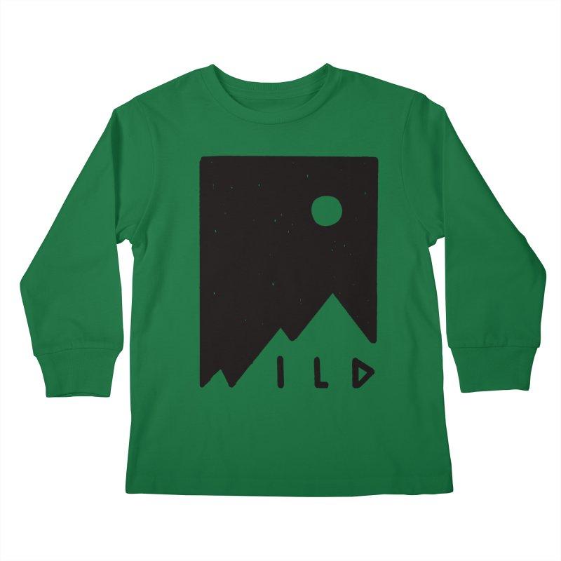 Wild Card Kids Longsleeve T-Shirt by MidnightCoffee