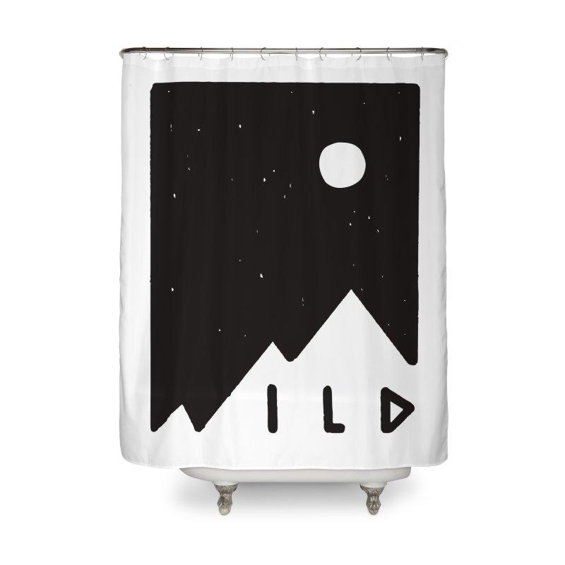 Wild Card Home Shower Curtain by MidnightCoffee