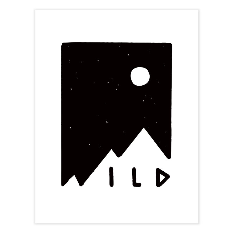 Wild Card Home Fine Art Print by MidnightCoffee