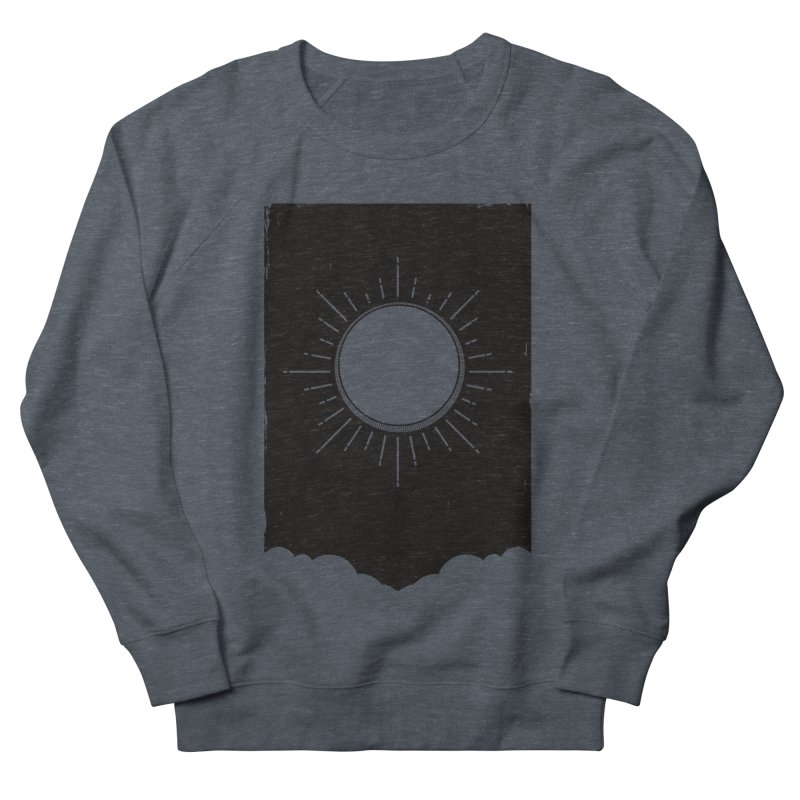 Shine Men's French Terry Sweatshirt by MidnightCoffee