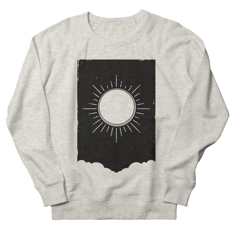 Shine Men's French Terry Sweatshirt by MidnightCoffee
