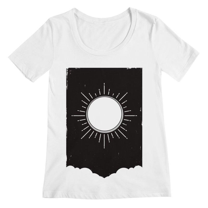 Shine Women's Regular Scoop Neck by MidnightCoffee