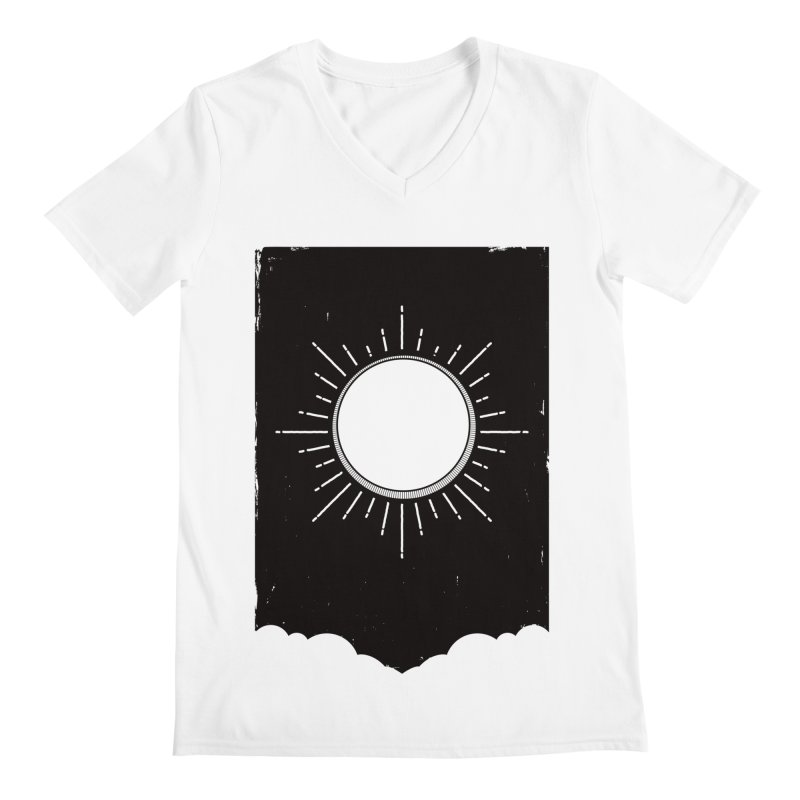 Shine Men's Regular V-Neck by MidnightCoffee