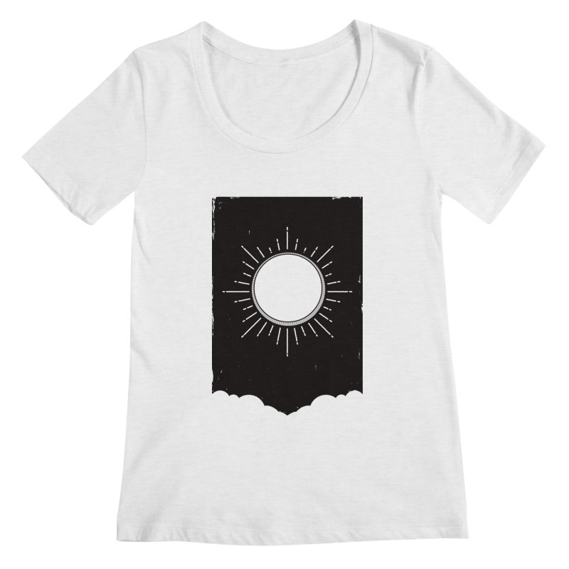 Shine Women's Regular Scoop Neck by MidnightCoffee